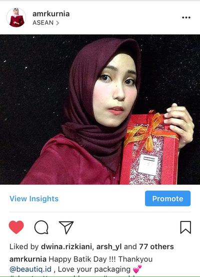 [REVIEW] : Tampil menarik dengan Batik Bersama Beautiq