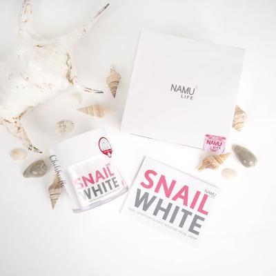 [REVIEW] Namu Life Snailwhite Facial Cream