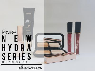 [REVIEW] New Product from Purbasari! Hydra Series BB Cream, Flawless Matte BB Two Way Cake, and Metallic Color Matte Lipstick