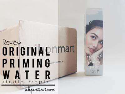 [REVIEW] Studio Tropik Original Priming Water from Nihonmart