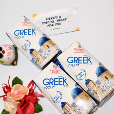 Live a Healthy Life with Heavenly Blush Greek Style Yogurt