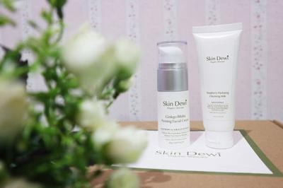 REVIEW: Skin Dewi Raspberry Hydrating Cleansing Milk & Helichrysum Brightening Vitamin C Treatment! #RecomendedSkincareLocal