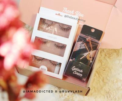 [Review] EYELASH KIT SET : IamAddicted x RUVV Lash