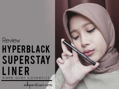 [REVIEW] Make Over Hyperblack Superstay Liner
