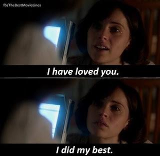 I Have Loved You and I Did My Best