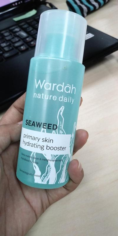 Review Wardah Primary Skin Hydrating Booster