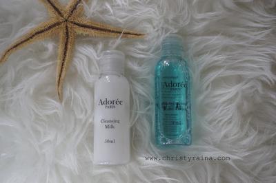 Beauty Review: Adoree Paris Cleansing Milk & Moisturising Tonic Lotion