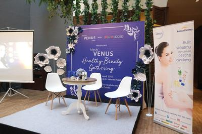 "Blogger Gathering : ""Healthy and Beauty Gathering Bersama Marcks Venus dan Dream.co.id"""