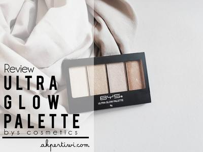 [REVIEW] BYS Ultra Glow Palette