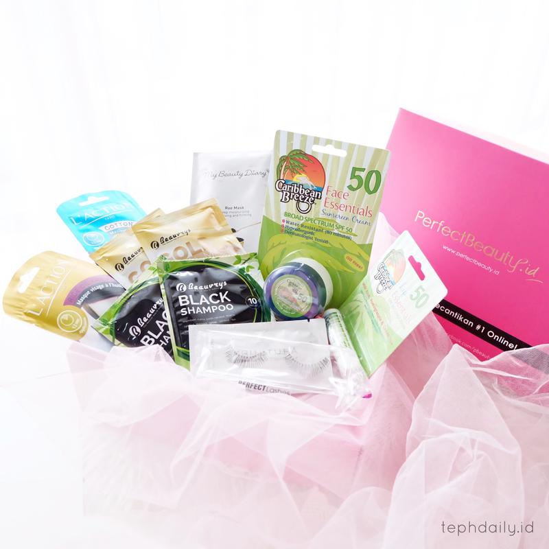 Unboxing Beauty Box from Perfectbeauty.id