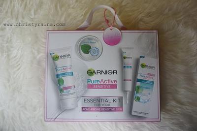 Beauty Review: Garnier Pure Active Sensitive Untuk Perawatan Kulit Sensitif
