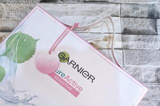 SKINCARE UNTUK KULIT WAJAH SENSITIF?  REVIEW GARNIER PURE ACTIVE FOR SENSITIVE SKIN