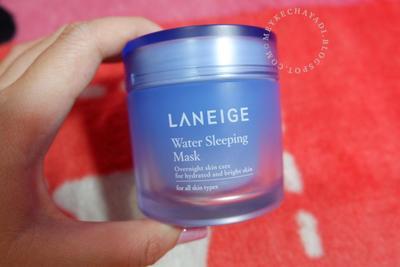 """LANEIGE"" water sleeping mask review"