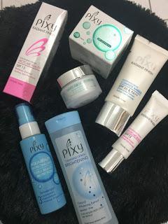 Pixy cosmetic dan Mizzu Eye Liner