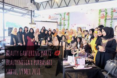 Event : Beauty Gathering Party With Beautynesia X Purbasari