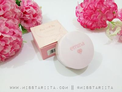 [ REVIEW ] EMINA MINERAL LOOSE POWDER II BARE WITH ME
