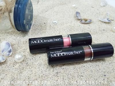 [ REVIEW ] MOODMATCHER ORIGINAL LIPSTICK || 12 JAM TANPA TOUCH UP || BROWN AND PINK ||