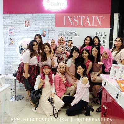 THE BALM BLOGGER EXPOSURE WITH MEDAN BEAUTY GRAM AT THE BALM SOGO SUN PLAZA MEDAN