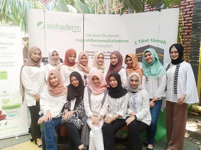 HIJRAH BERSAMA AISHADERM KOSMETIK SAHABAT MUSLIMAH || BEAUTY INFLUENCER GATHERING IN MEDAN