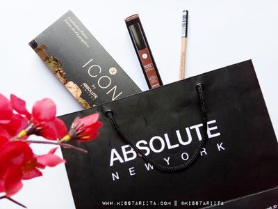 [ REVIEW ] ABSOLUTE NEW YORK ICONIC [ ICON EYESHADOW PALETTE ][ MODEST MATTE LIQUID LIPSTICK ][ ALL PURPOSE PENCIL CONCEALER ]