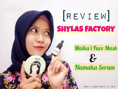 [ REVIEW ] SHYLAS FACTORY MAIKA'I FACE MASK AND NAMAKA EYELASH & EYEBROW SERUM
