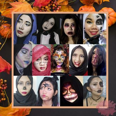 Beautiesquad Collaboration - Halloween Party