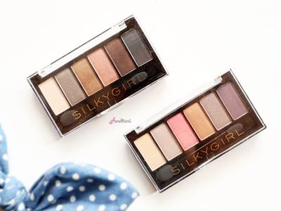 Silky Girl Truly Nude Eye Shadow Palette Earthy and Blossom