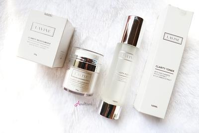 Lavine Clarity Skincare   Toner and Moizturizer Review
