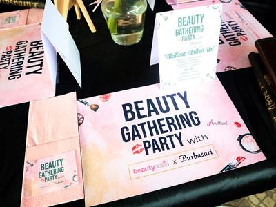 Beauty Gathering Party with Beautynesia and Purbasari Medan