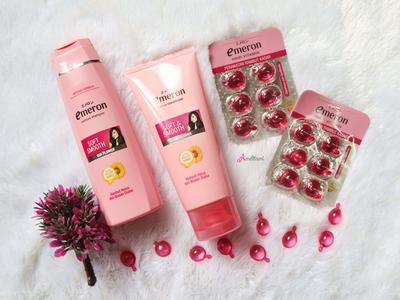 Perawatan Rambut Alami di Rumah dengan Emeron Complete Hair Care - Soft & Smooth