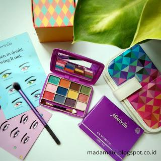 Review: Mirabella Rainbow Eye Shadow Kit III