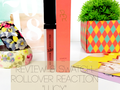 "Review & Swatch: Rollover Reaction Sueded! Lip & Cheek Cream ""Lucy"""