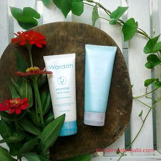 Review: Wardah Essential Peeling Cream & Facial Mask