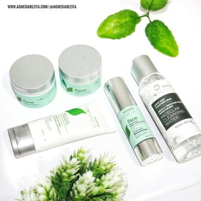Mineral Botanica Face Brightening Series & Micellar Cleansing Water [Review]