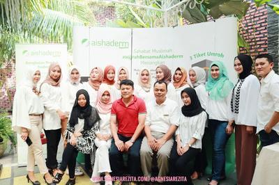 Serunya Beauty Influencer Gathering Bersama Aishaderm di Medan #HijrahBersamaAishaderm