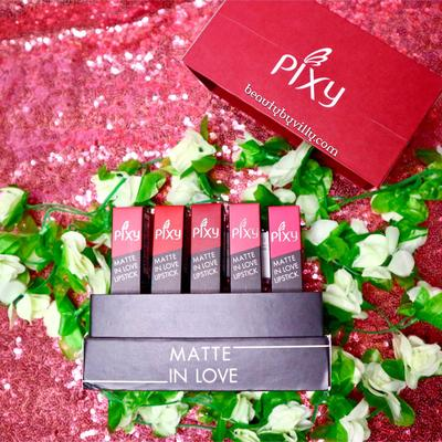 Pixy Matte In Love Lipstick Review + Full Swatch