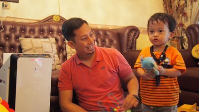 Cara Menjaga Kesehatan Bayi dan Anak - Panasonic Air Purifier