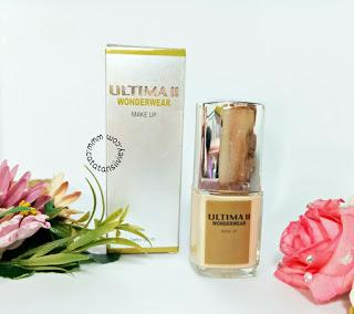 [ REVIEW ] ULTIMA II WONDERWEAR MAKE UP LIQUID FOUNDATION