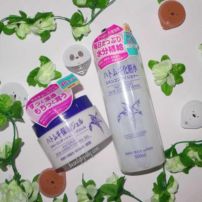 Hatomugi Skin Conditioner and Skin Conditioning Gel REVIEW