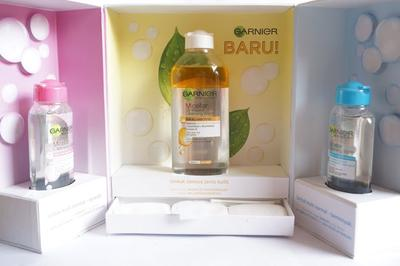 Review Garnier Micellar Oil Infused Cleansing Water