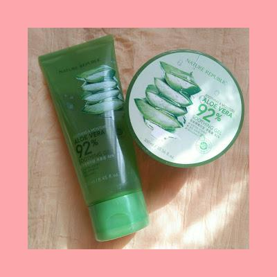 Review Nature Republic Aloe Vera Shooting Gel 92%