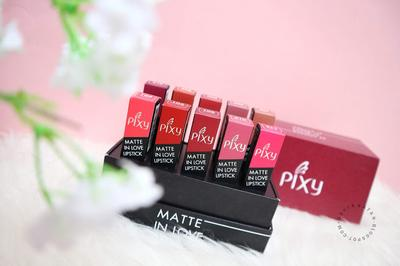 Pixy Matte In Love Lipstick - Review & Swatches