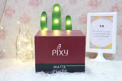 Review Pixy Matte In Love All Shade