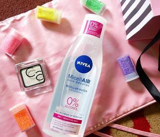 Nivea MicellAir Skin Breathe (Pembersih makeup wajah non Alkohol)