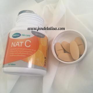 Vitamin C Mega Nat C 1000