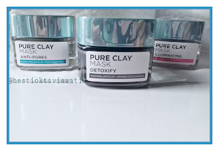 #REVIEW L'OREAL CLAY MASK
