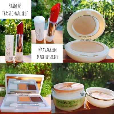Review Naavagreen Make Up Series & Make up Tutorial Singkat!