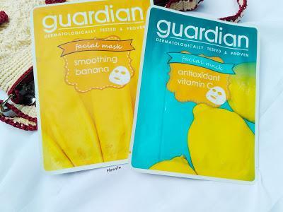 (REVIEW) Guardian Facial Mask in Vitamin C & Banana