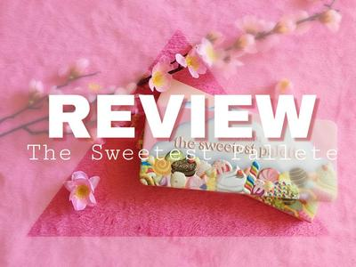 REVIEW The Sweetest Pallete (Beauty Creations)