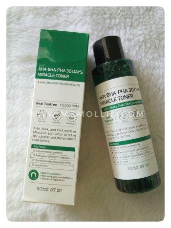 [review] Some By Mi AHA BHA PHA 30 Days Miracle Toner